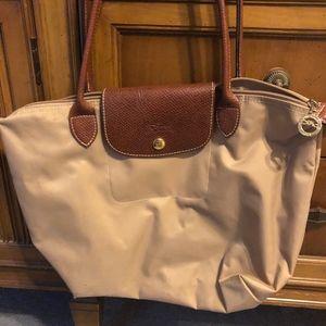 Nylon Longchamps bag